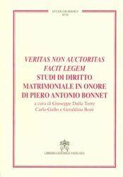 Immagine di Veritas non auctoritas facit legem, studi di diritto matrimoniale