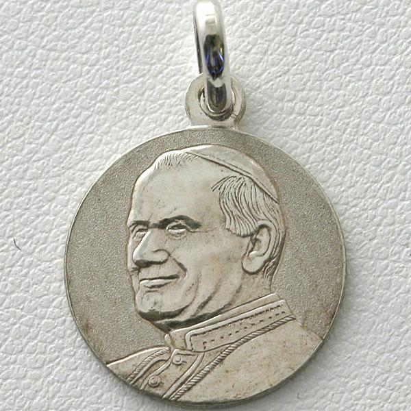 Imagen de Medalla de Papa Juan Pablo II - PLATA