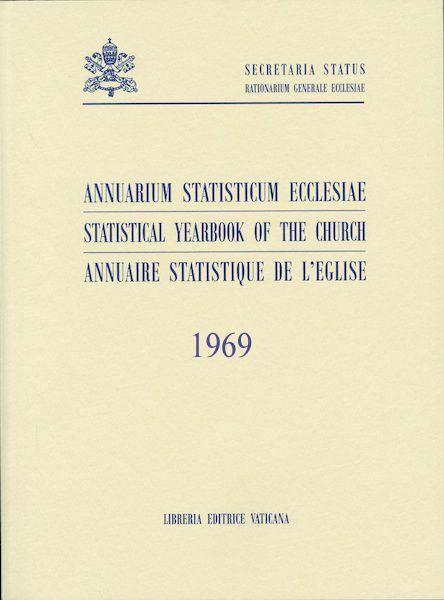 Picture of Annuarium Statisticum Ecclesiae 1969