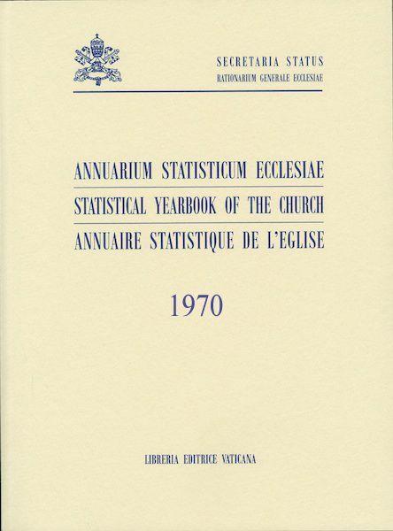 Immagine di Annuarium Statisticum Ecclesiae 1970