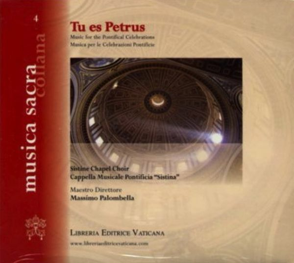 Picture of Tu es Petrus: the Sistine Chapel Choir for the Papal celebrations - CD