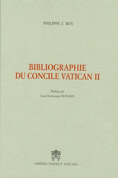 Immagine di Bibliographie du Concile Vatican II