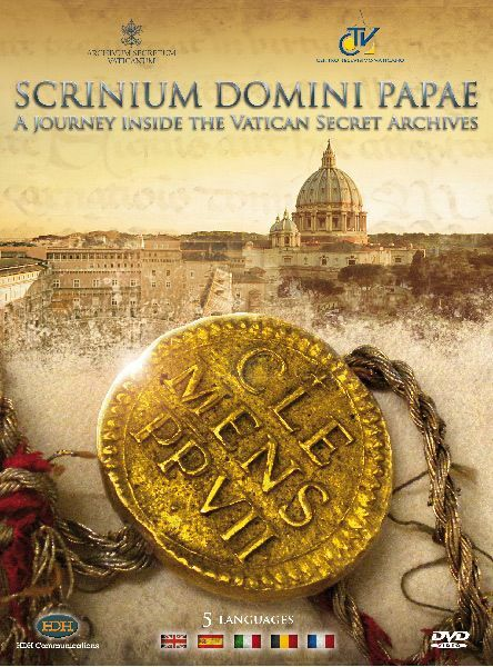 Picture of Scrinium Domini Papae. A journey inside the Vatican Secret Archives - DVD