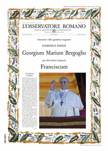 Picture of L' Osservatore Romano, Special edition - Election of Pope Francis