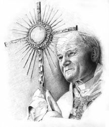 Picture of Pope John Paul II - PRINT