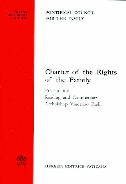 Immagine di Charter of the rights of the family