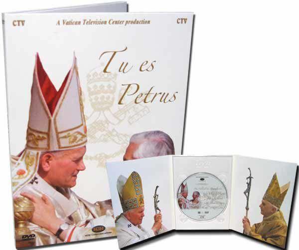 Imagen de Tu es Petrus. Jean Paul II - Benoît XVI Les Clefs du Royaume - DVD