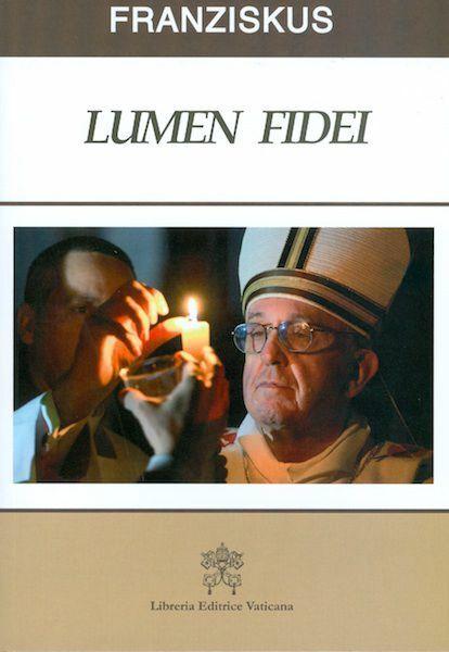 """Immagine di Lumen fidei """"Licht des Glaubens""""- Enzyklika"""