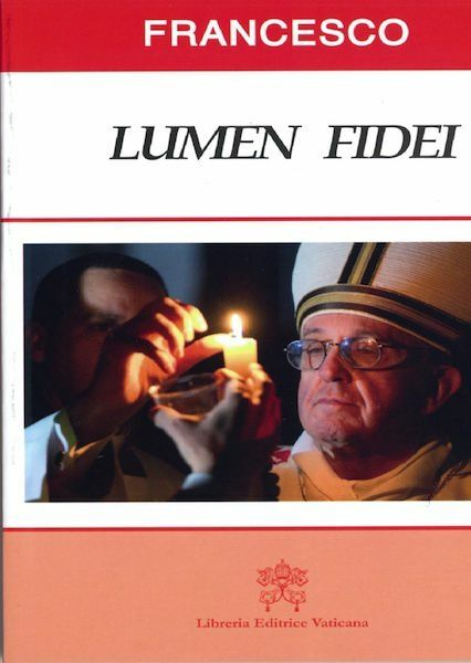 Imagen de Lumen Fidei La luce della Fede Lettera Enciclica