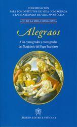 Picture of Alegraos a los consagrados y consagradas del Magisterio del Papa Francisco