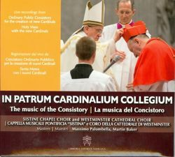 Picture of In Patrum Cardinalium Collegium The Music of the Consistory - CD