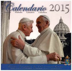 Picture of Calendario oficial 2015 Papa Francisco - de escritorio, cm 16 x 17