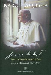 Imagen de Sono tutto nelle mani di Dio Appunti personali 1962-2003
