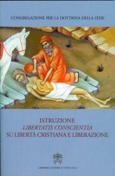 Immagine di Istruzione Libertatis Conscientia su libertà cristiana e liberazione