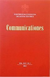 Picture of Communicationes - Back issues archive