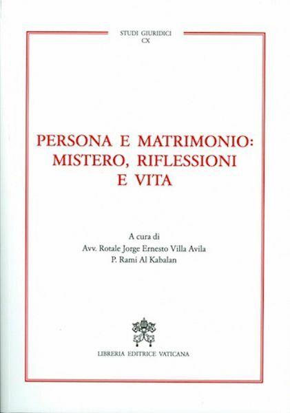 Picture of Persona e Matrimonio: Mistero, Riflessione e Vita