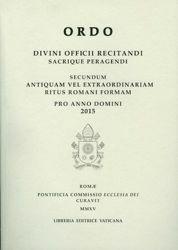 Imagen de Ordo Divini Officii Recitandi Sacrique Peragendi pro Anno Domini 2015