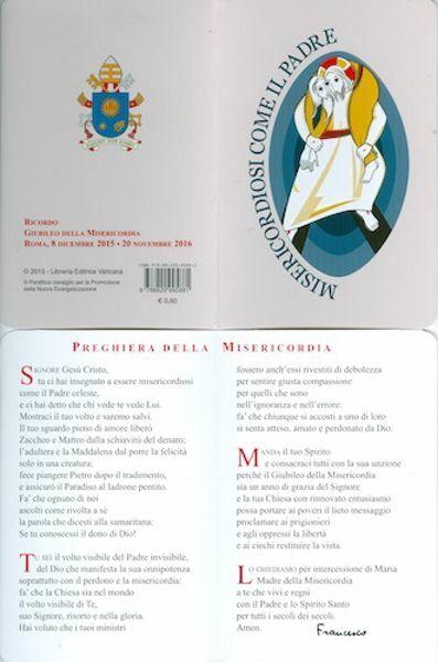 Picture of Preghiera della Misericordia
