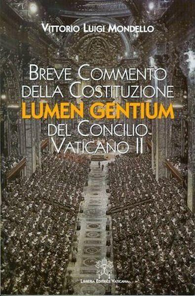 Immagine di Breve commento della costituzione Lumen Gentium del Concilio Vaticano II