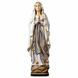 Imagen de Madonna di Lourdes - SCULTURA IN LEGNO