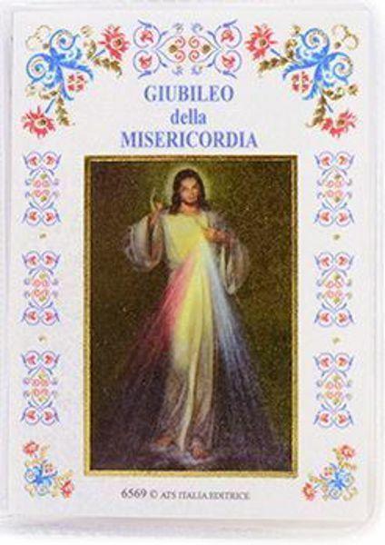 Imagen de Novena alla Divina Misericordia - custodia con libro e rosario