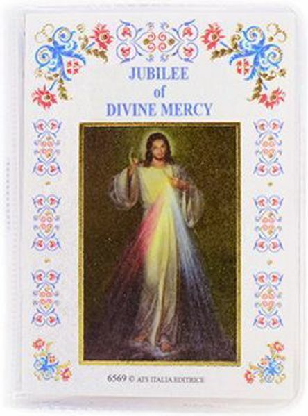 Imagen de Novena of the Divine Mercy - Holder with book and rosary