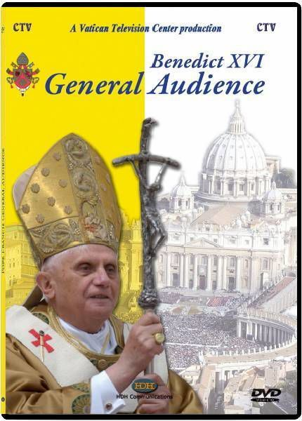 Picture of General Audience of Pope Benedict XVI - DVD