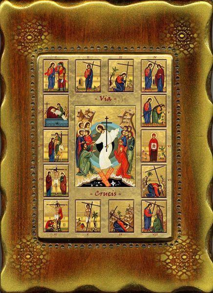 Via Crucis - Icona Da Muro E Da Tavolo