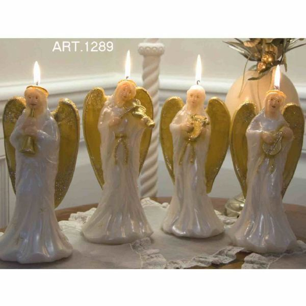 Picture of Christmas Candle Musician Angels