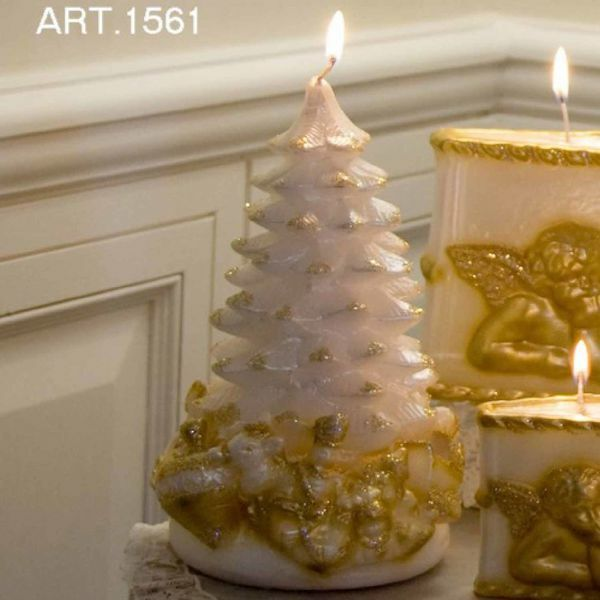 Picture of Christmas Candle Pine Carillon
