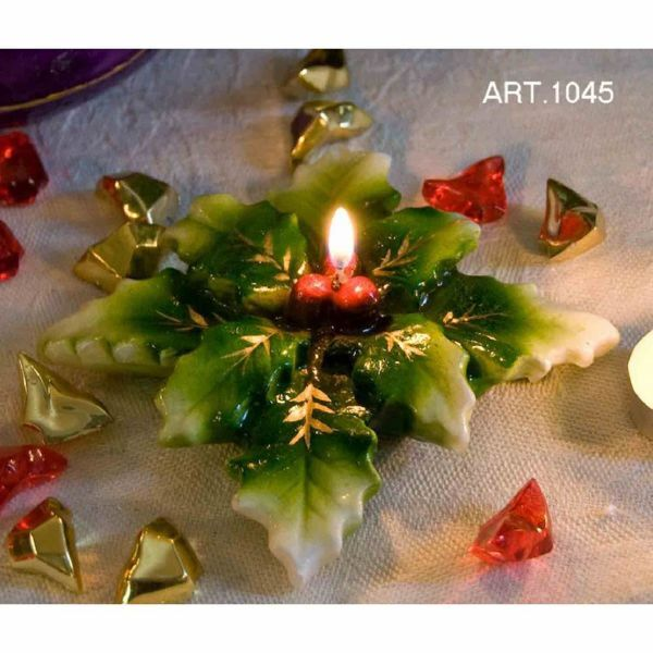 Picture of Christmas Candle Holly