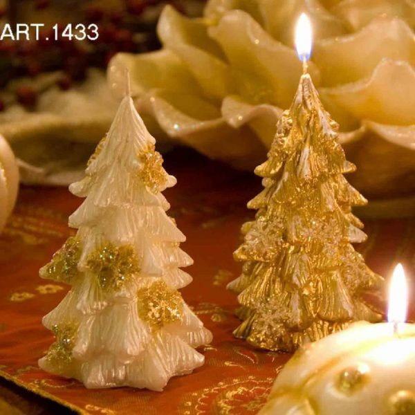 Picture of Christmas Candle Snowflake