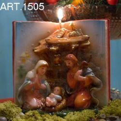 Picture of Christmas Candle Book Nativity