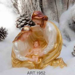 Picture of Christmas Candle Embrace Nativity