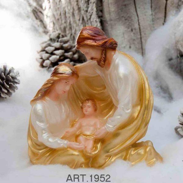 Imagen de Vela Navidad Pesebre Abrazo