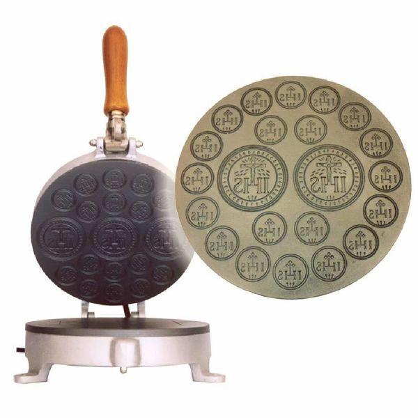 Immagine di Macchina per Ostie e Particole alto 2/20 medio in ghisa Stampo Manuale Comunione Santa Messa