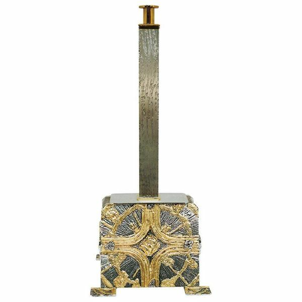 Large Processional Cross Stand H. Cm 72 (28,3 Inch) Cross
