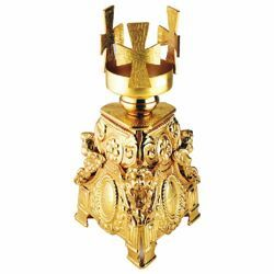Picture of Altar Sanctuary Lamp Blessed Sacrament H. cm 20 (7,9 inch) Angels brass Altar Chancel lamp for Church