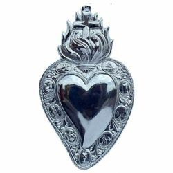 Picture of Heart with Holy Cross - EX VOTO (AEX111)