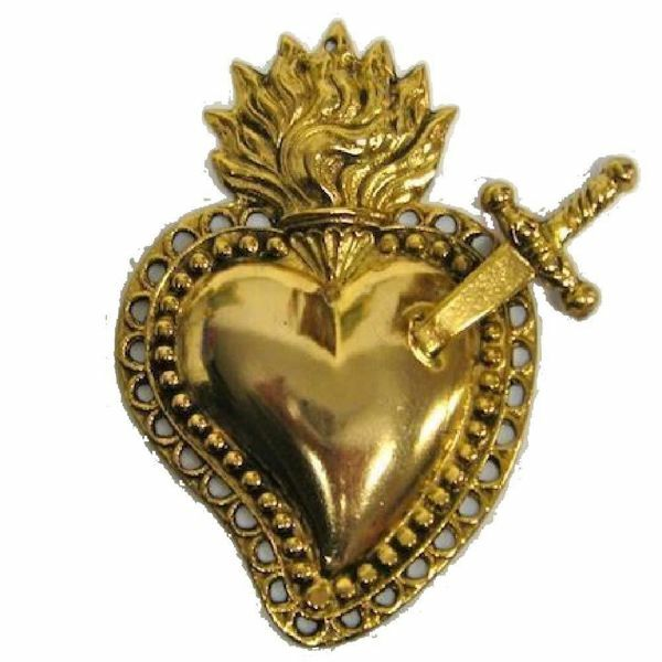 Picture of Heart with sword - EX VOTO (AEX 525)
