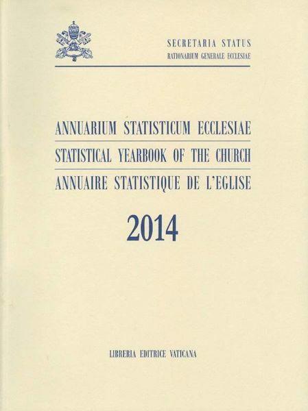 Imagen de Statistical Yearbook of the Church 2014