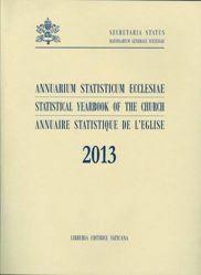 Picture of Annuarium Statisticum Ecclesiae 2013