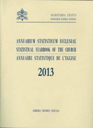 Immagine di Annuarium Statisticum Ecclesiae 2013 (Statistical Yearbook of the Church 2013) - Librum