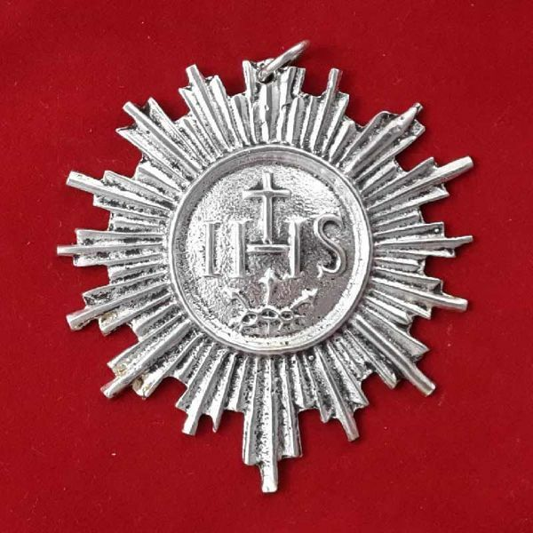 Picture of Blessed Sacrament, woman - Gold or silver plated Confraternity Medal