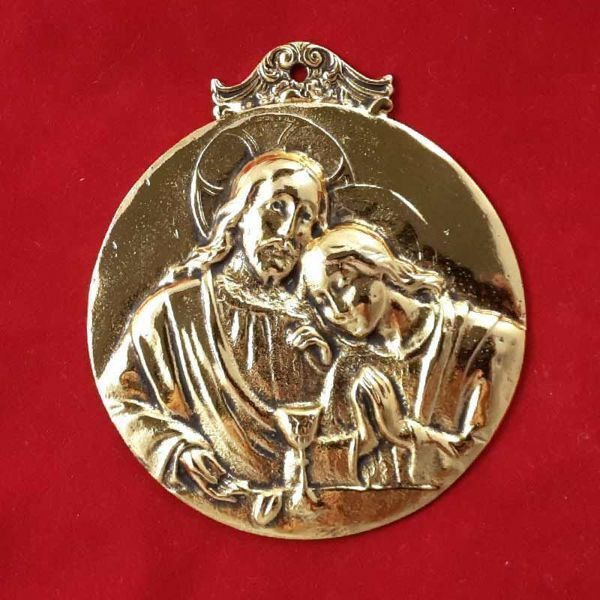 Picture of St. John the Evangelist - Gold or silver plated Confraternity Medal