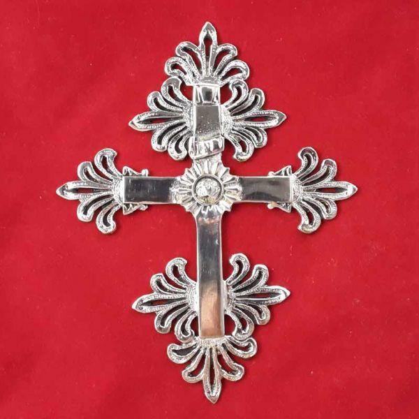 Imagen de Trinidad - Cruz pectoral para Obispos con baño oro 24 quilates o plata 1000/1000