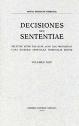 Imagen de Decisiones Seu Sententiae Anno 2000 Vol. XCII 92