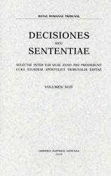 Picture of Decisiones Seu Sententiae Anno 1999 Vol. XCI 91