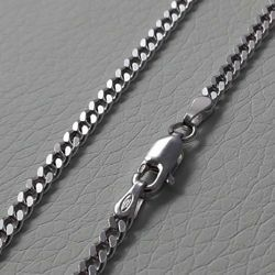 Picture of Curb Chain Silver 925 cm 60 (23,60 in) Unisex Woman Man