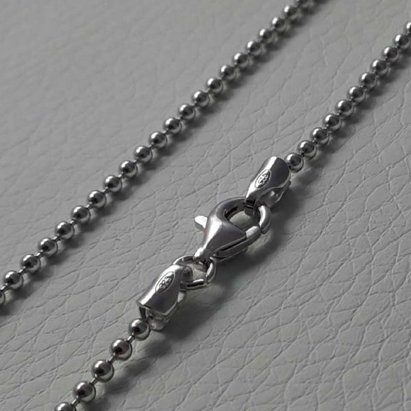 Picture of Beads Chain Silver 925 cm 60 (23,60 in) Unisex Woman Man